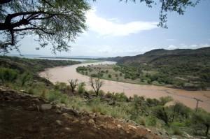 A river near Dadyal, AJK