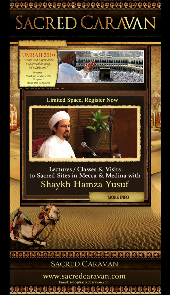 Sacred Caravan with Shaykh Hamza Yusuf